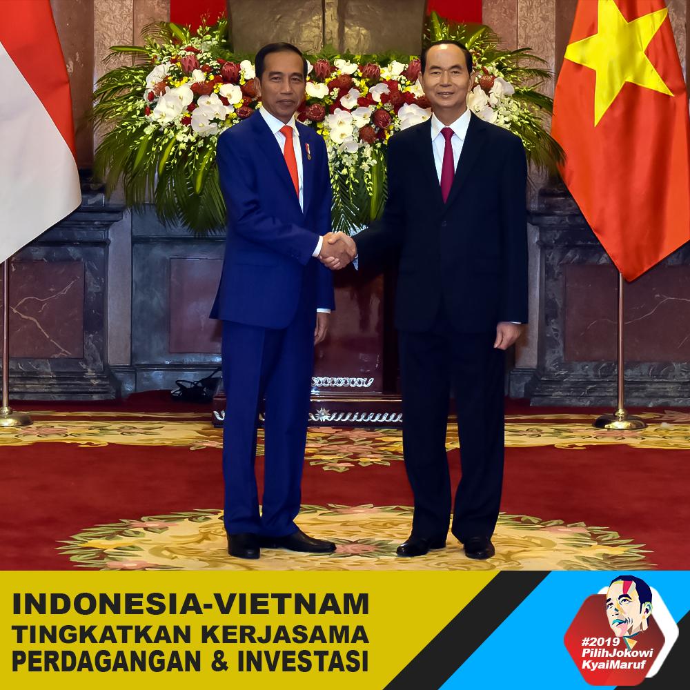 Indonesia - Vietnam Tingkatkan Kerjasama Perdagangan & Investasi
