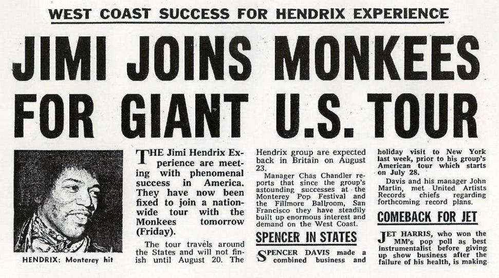 Rock On Vinyl The Monkees Live 1967