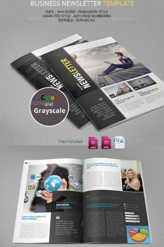 85. Business Newsletter Template