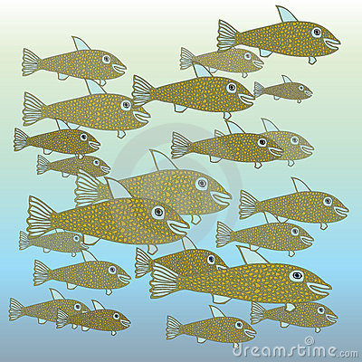 https://www.dreamstime.com/royalty-free-stock-photo-school-fish-image5816075#res487314
