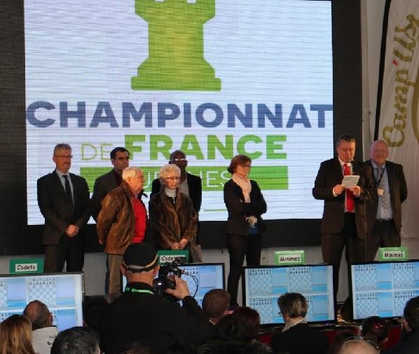 Le lancement du championnat de France échecs jeunes 2016 - site officiel