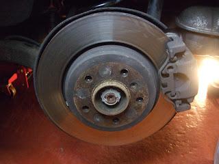 BMW E46 330d rear brake