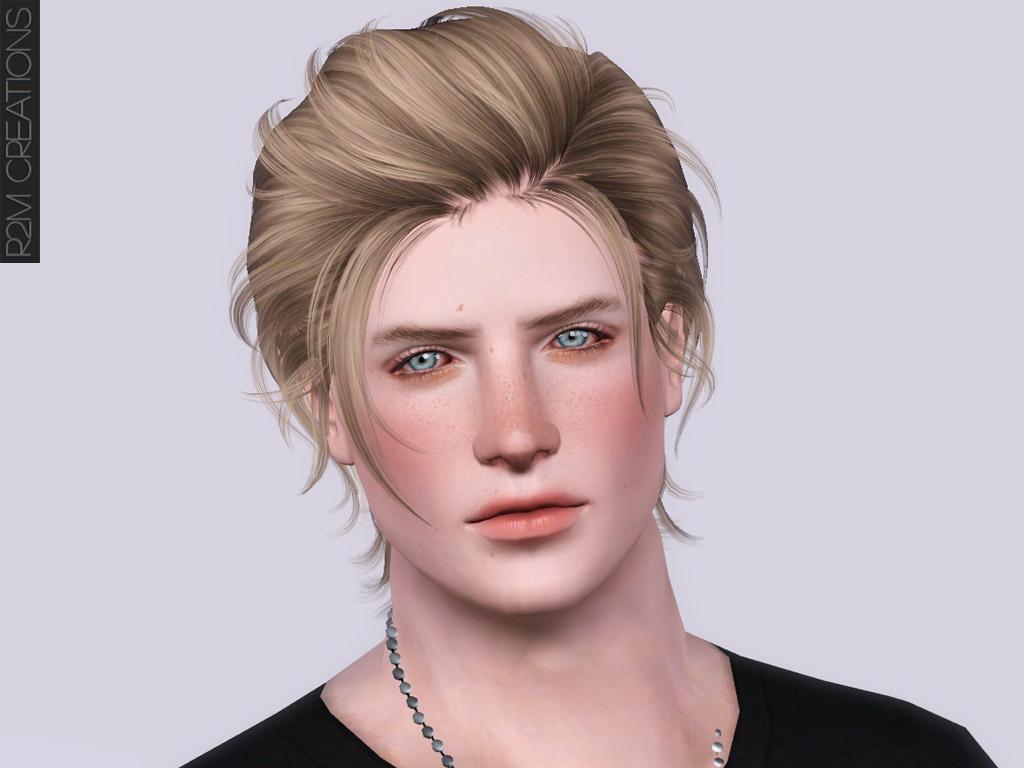 Newsea's Hair Gantz resized / retexture for men - R2M