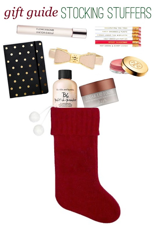Christmas Gift Guide: Stocking Stuffers