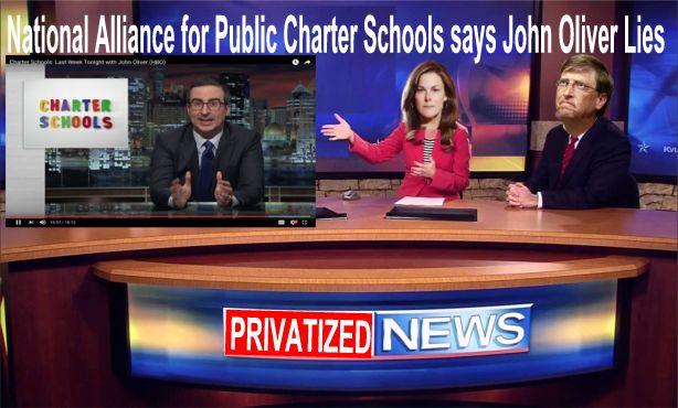 Image result for big education ape John Oliver Charter School