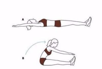 Động tác tập yoga giảm mỡ bụng 1