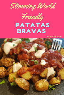 slimming world patatas bravas recipe food slimming world spanish