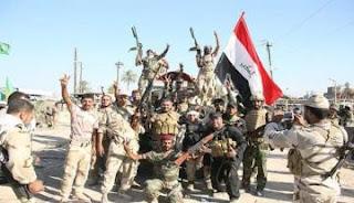 العراق : الحشد الشعبي و الجيش العراقي يحرران سلسلة جبال حمرين بالكامل