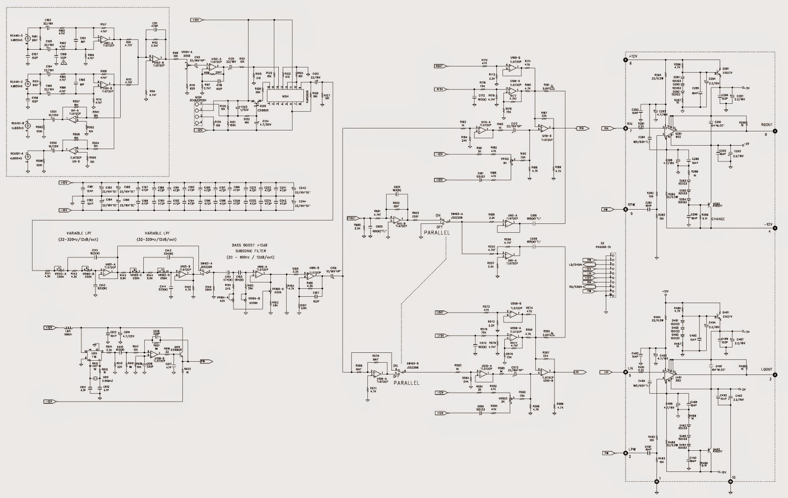 Bridged Mono Wiring Diagram Types Of Network Diagrams In Project Management Jbl Bpx2200 1 2 Channel Power Amplifier Car