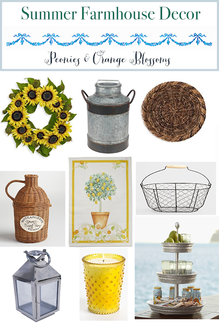 Summer Farmhouse Decor Favorites