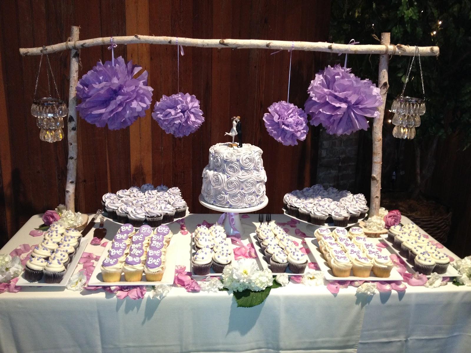 Lavender Rustic Wedding Theme