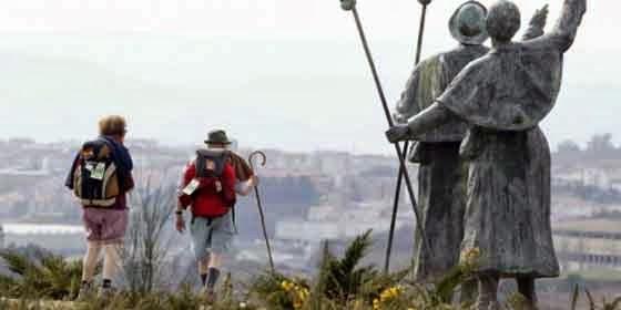 Pilgrims to Santiago de Compostela