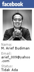 Facebook Mas Arif Budiman