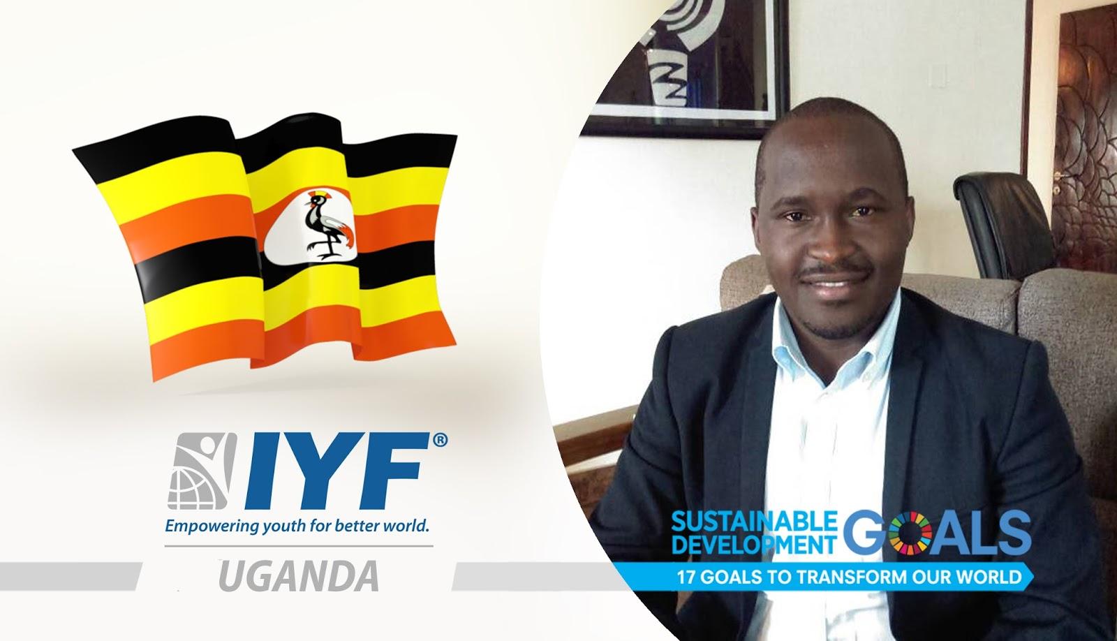 Peter Tenywa, IYF Representative in Uganda