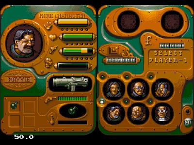 【MD】混亂機車(Chaos.Engine.The)原版+武器威力最強、255血量Hack版!