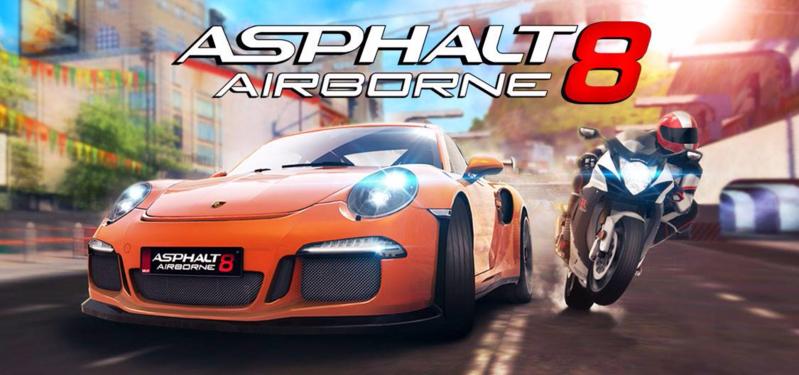 تحميل لعبة أسفلت 8 Asphalt 8 Airborne v3.5.0j مهكرة كاملة اخر اصدار (ميديا فاير) (اضافة الدرجات النارية)