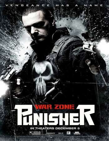 Poster Of Punisher: War Zone 2008 Hindi Dual Audio 450MB BRRip 720p ESubs HEVC Free Download Watch Online downloadhub.in