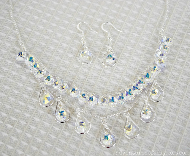 how to make teardrop necklace