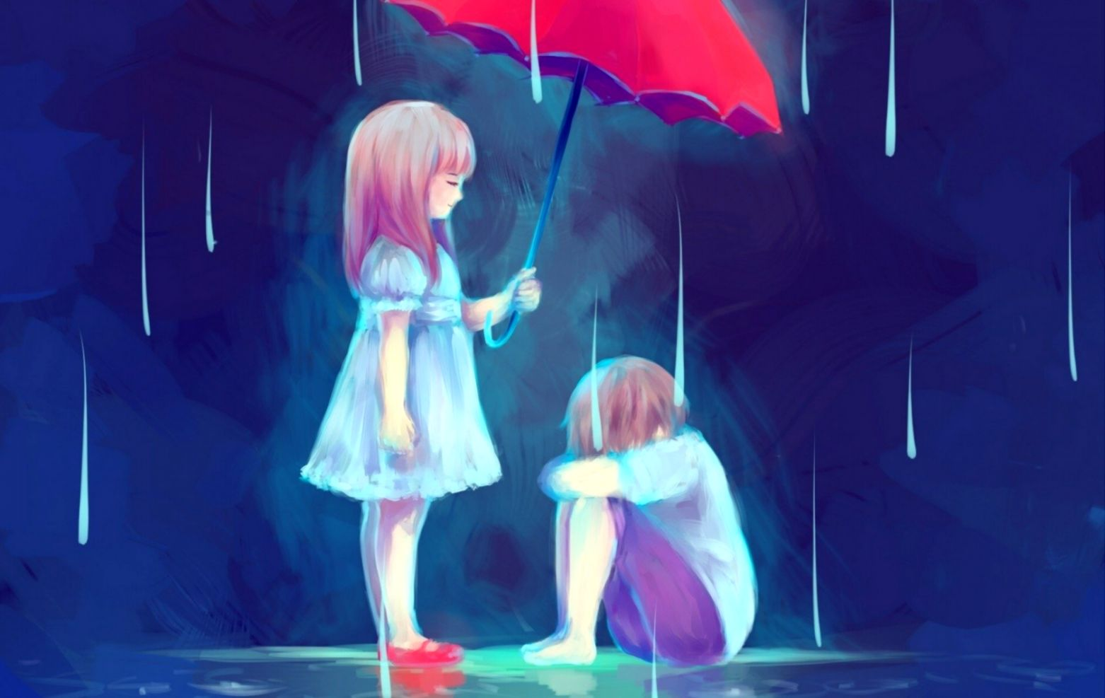 Sad Anime Love Wallpapers Hd Wallpapers Pc
