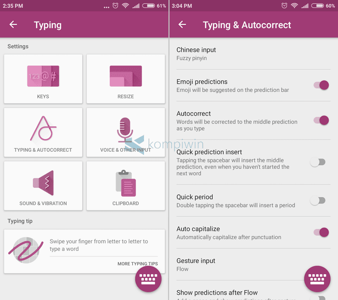 ubah bahasa keyboard android