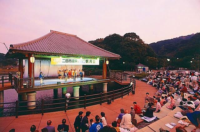 Kangetsusai (Moon Festival), Chikushino City, Fukuoka Pref.