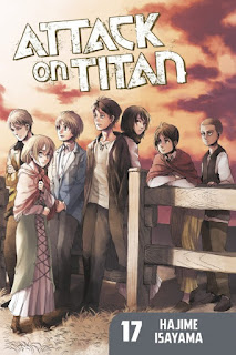 Photo of The Artist Librarian's Waiting on Wednesday pick -- Attack on Titan, Vol. 17