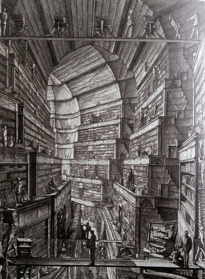 03-Library-of-Babel-1-Erik-Desmazières-Architectural-Etching-and-Pencil-Drawings-www-designstack-co