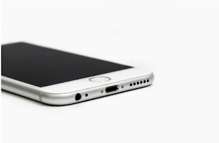 Smartphone side view
