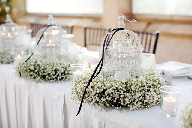 Las jaulas como elemento decorativo en las bodas - Foto: www.thebridalbox.com