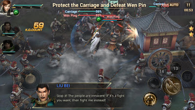 Dynasty Warriors Unleashed MOD Apk v1.0.3.5