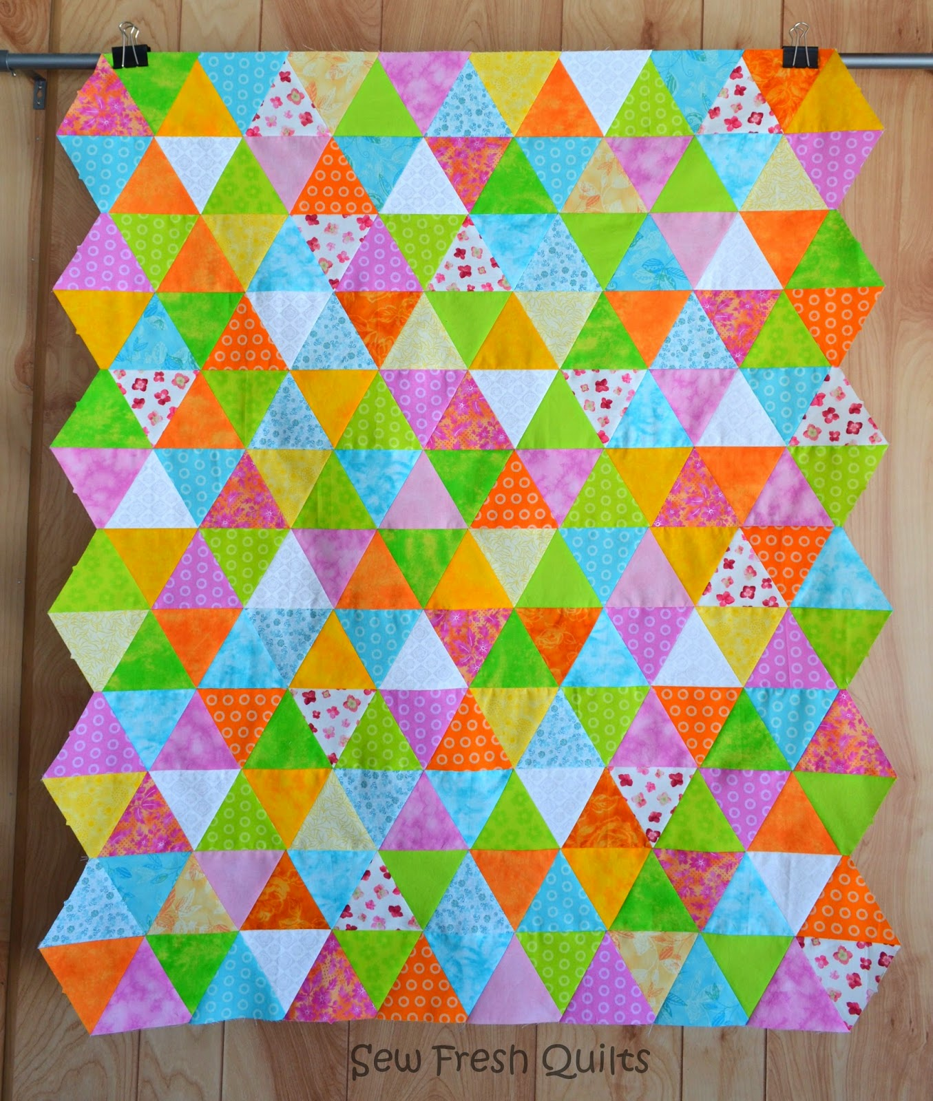 Sew Fresh Quilts: Binding Inside Corners Tutorial