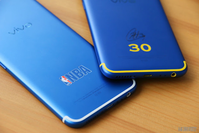 This NBA Edition Vivo X9 and Xplay 6  is clearly cool