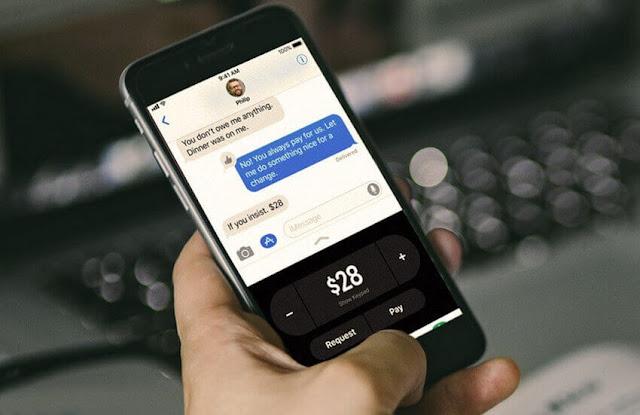 Apple Pay Cash للدفع نقدا في iOS 11.2