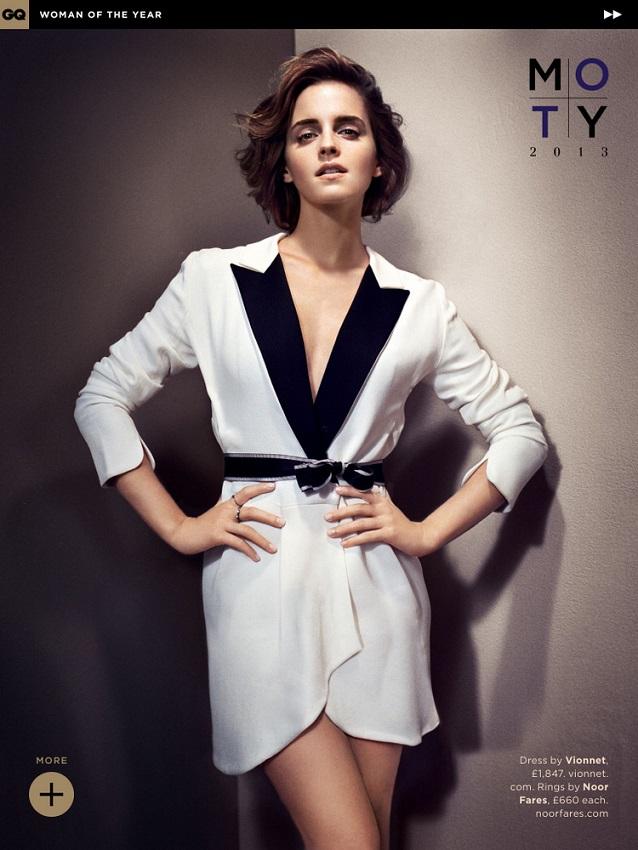 Emma Watson GQ Magazine Photoshoot - celebsla.com