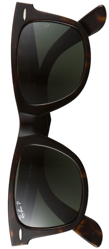 Ray-Ban 'Classic Wayfarer'  Polarized Sunglasses