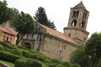 Monastery of Sant Pere de Camprodón in Catalonia