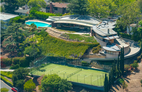 Modern Homes Los Angeles Domed Silvertop John Lautner S