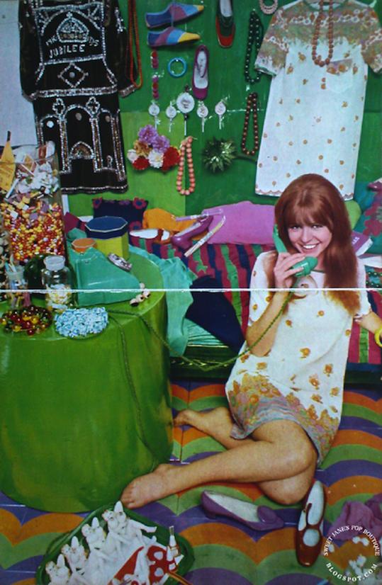 Sweet Jane Bedsitter Girl Jane Asher In Nova 1966