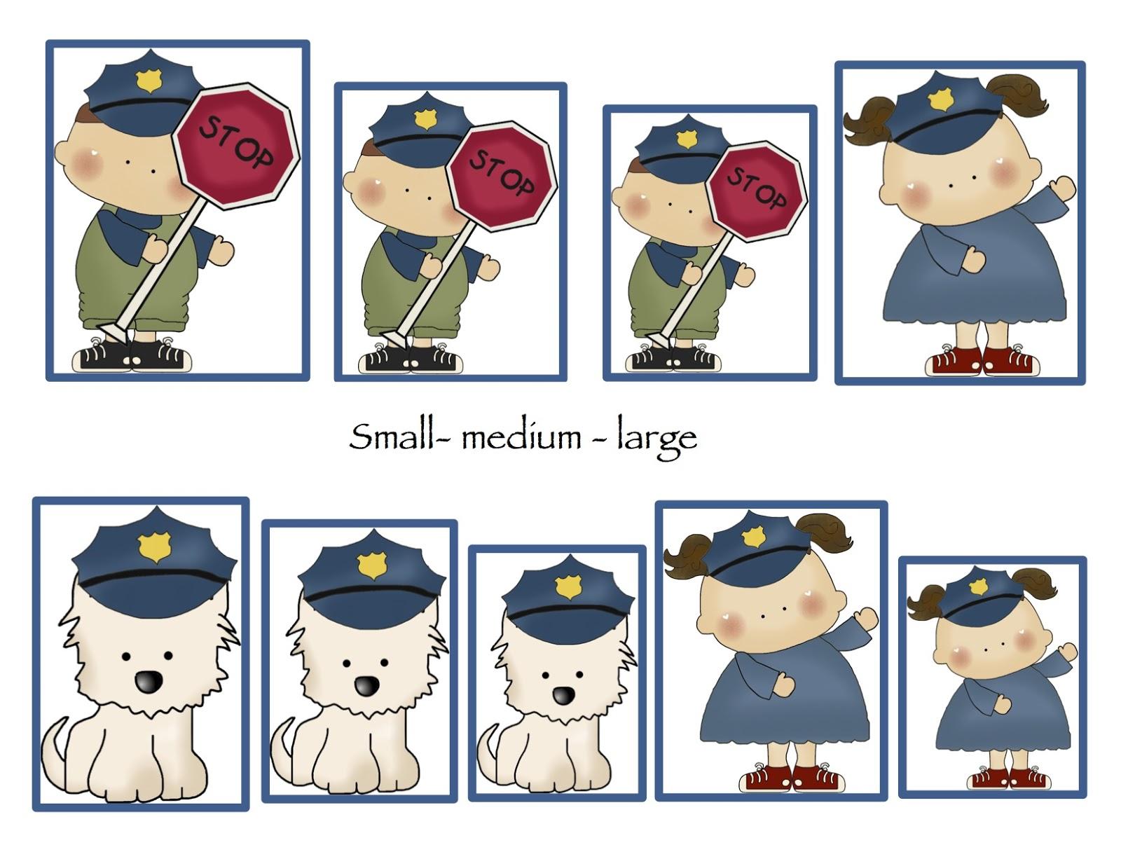 Preschool Fire Cop Medic