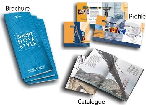 Phân biệt brochure và catalogue