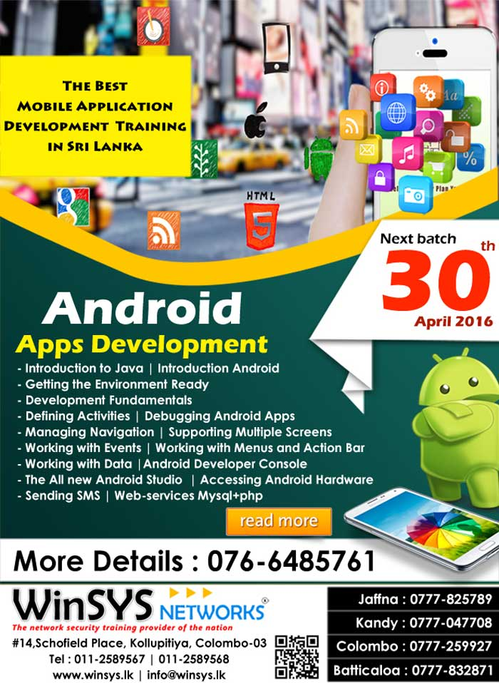 Be an Android Mobile Developer