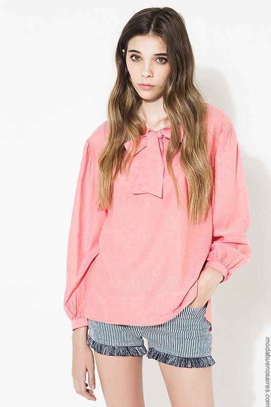 Blusas verano 2017 ropa de mujer. Moda mujer verano 2017.