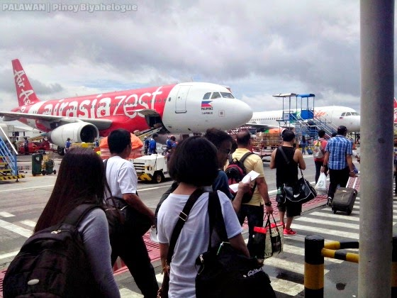 Boarding at Air Asia