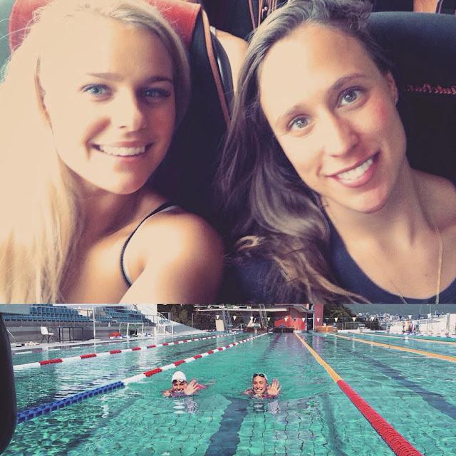 Sexy κολύμβηση: Pernille Blume