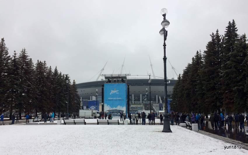 """Стадион """"Крестовский"""" Санкт-Петербург"""