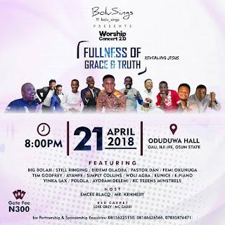 Bolu Sings Worship Concert 2.0