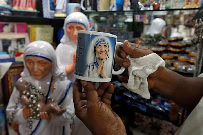 Mother Teresa Being Canonised in Vatican Here After Called As St. Teresa