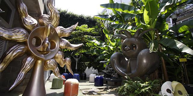 「明日の神話」に記念館にお墓も??東京で見れる岡本太郎の作品9つ【a】 岡本太郎記念館