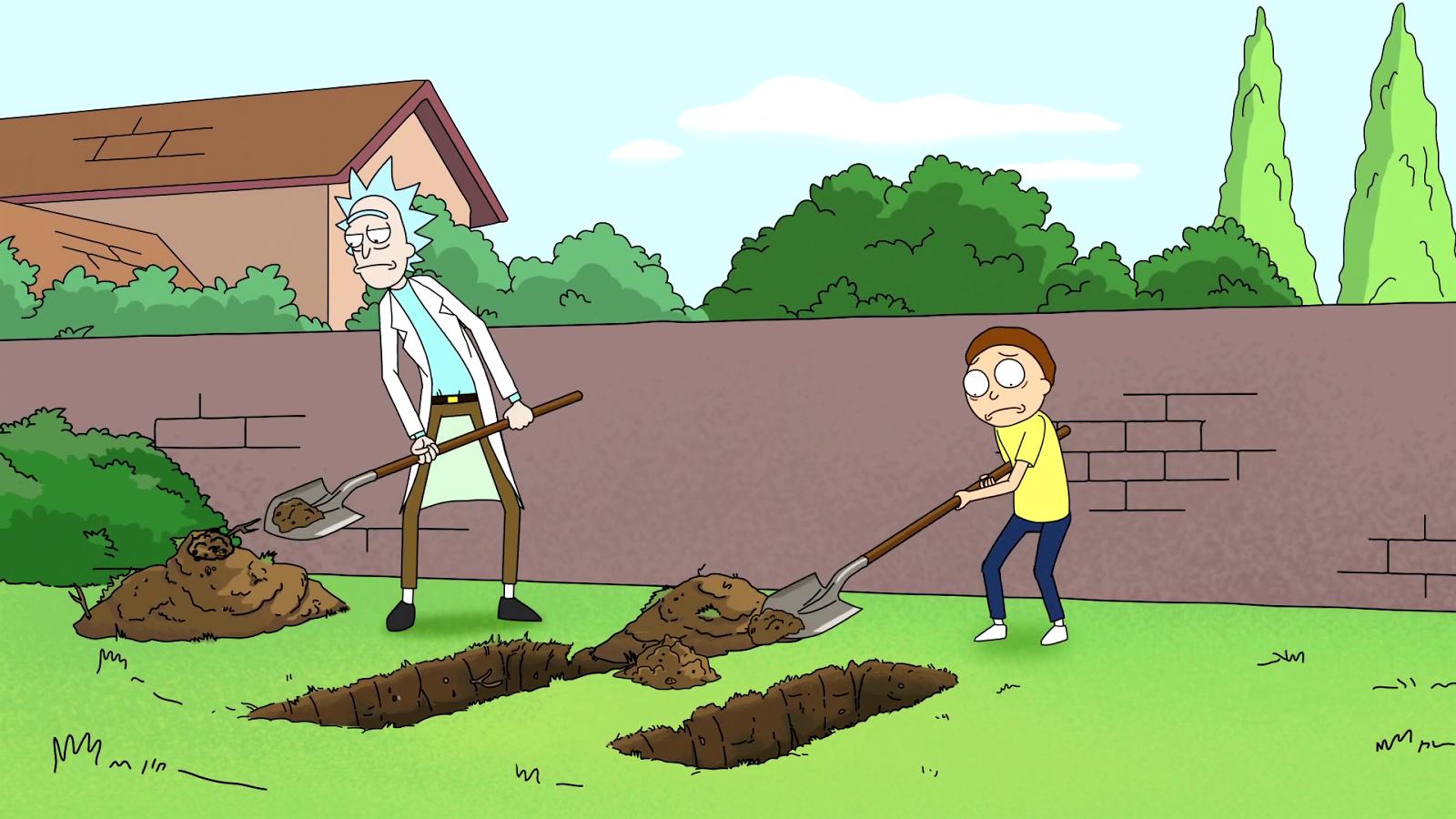 Rick y Morty en 'Rick and Morty'