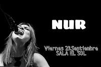 Concierto de Nur en Sala el Sol